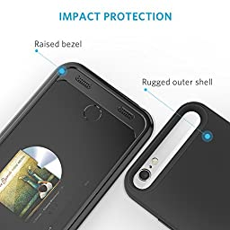 iPhone 6 / 6s Battery Case [Apple MFi Certified] Anker Premium Extended Battery Case for iPhone 6 / 6s (4.7 inch) with 3100mAh Capacity / 130% Extra Battery (Black)