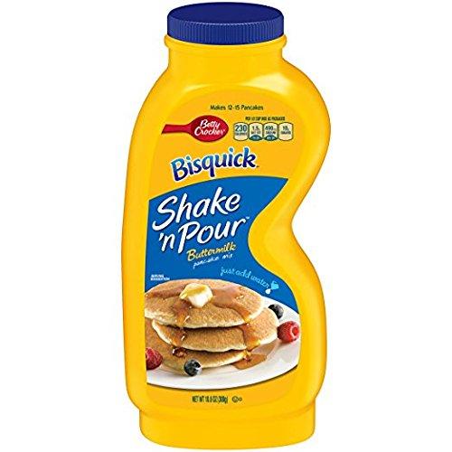 Bisquick Shake n Pour Buttermilk Pancake Mix (Pack of 3) 10.6 oz Bottles