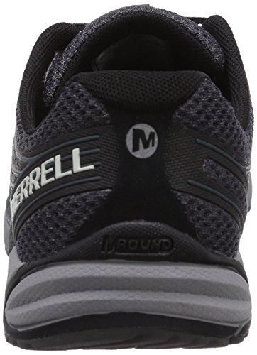 Merrell Mens Bare Access 4 Scarpe Da Trail Running Nere / Grigio Scuro