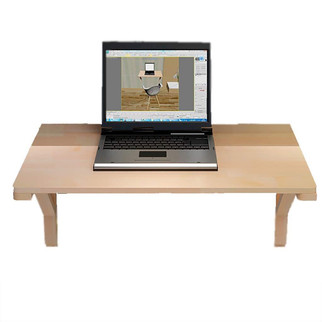 60cm × 120cm WSC Tavolo Pieghevole a Parete, portante 60 kg, salvaspazio, Adatto for Ufficio, scrivania, Cucina (Taglia   50cm × 75cm)