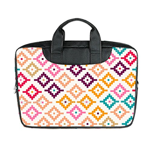 JIUDUIDODO Custom Cool Aztecs Nylon Waterproof Bag Computer Bag Handbag for Laptop 15