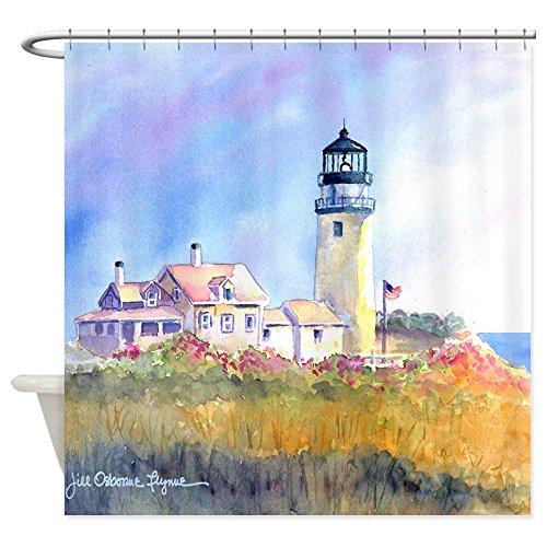(CafePress Cape Cod Light Shower Curtain Decorative Fabric Shower Curtain (69