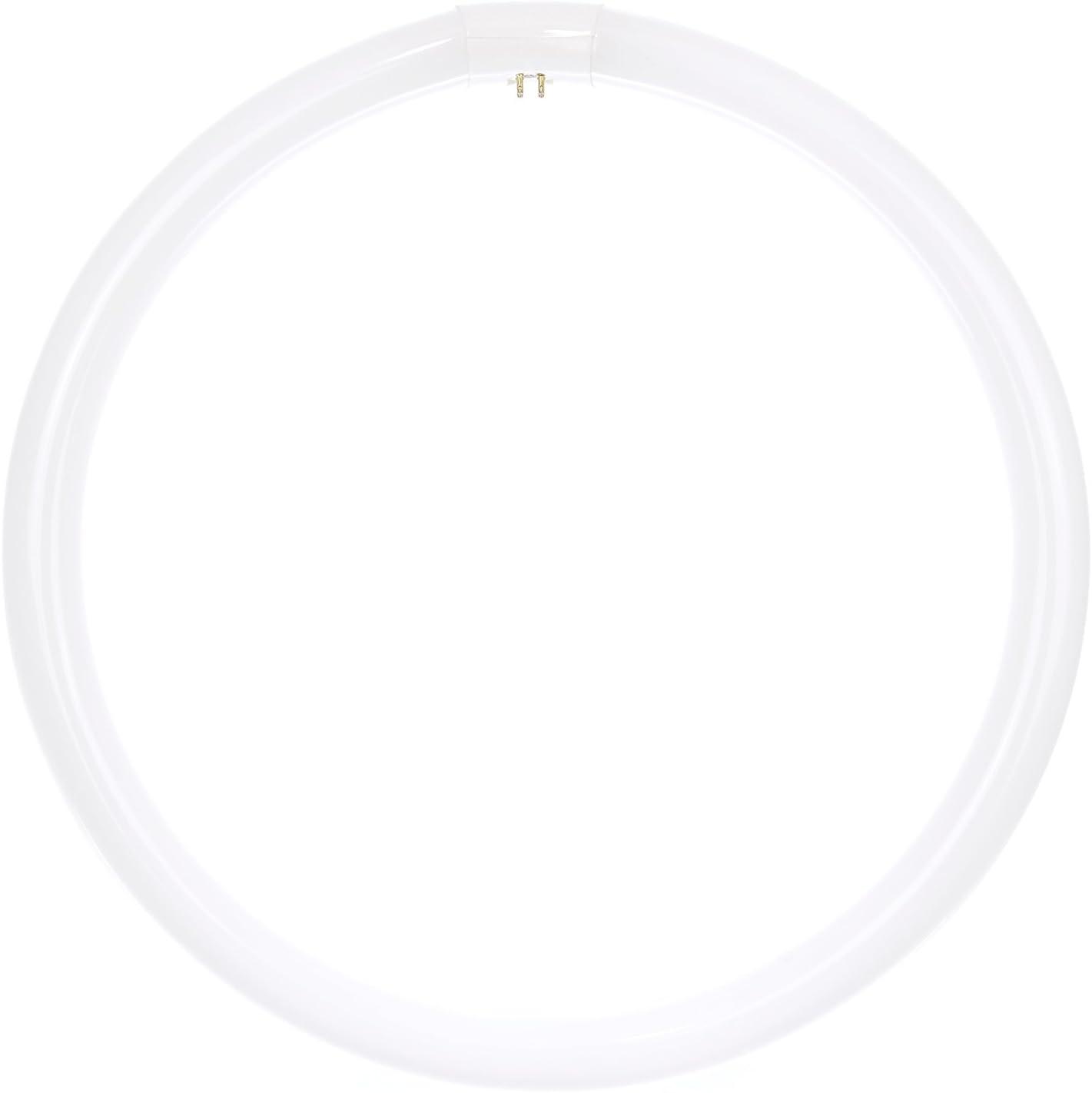 Sunlite FC16T9/CW 40W 05021 Fluorescent T9 Crcline Ceiling Light Bulb, 2600 Lumens, G10q 4-Pin Base, 40 Watts (16-Inch), Cool White