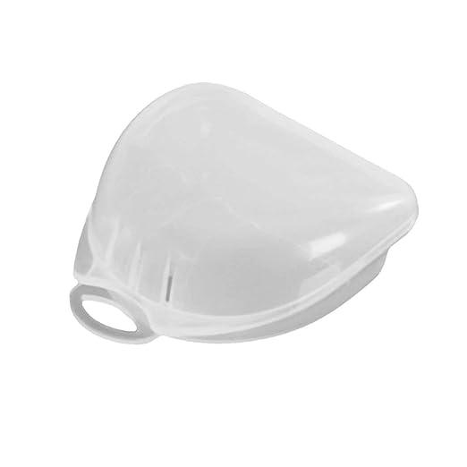 Tree-on-Life Estuche Protector de plástico Transparente para la Boca Protector ortodóntico Retenedor Dental Almacenamiento de la dentadura Estuche Protector para la Boca Protectora - Transparente: Amazon.es: Hogar