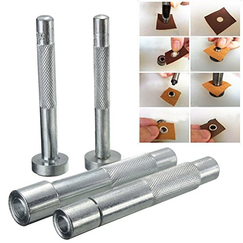 Littlepiano Household Accessories Eyelet Punch Die Tool Hole Cutter Set For Leather (Eyelet Cutter)