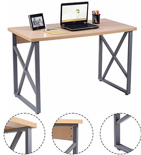 K&A Company Writing Computer Desk Table Student Storage Shelves Kids Room New Furniture Dorm Laptop Wood Corner Drawer Office Shelf Work Unit Wooden PC Laptop Workstation