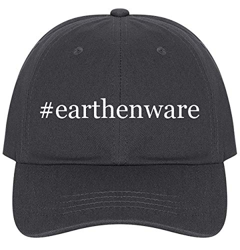 The Town Butler #Earthenware - A Nice Comfortable Adjustable Hashtag Dad Hat Cap, Dark Grey, One Size - Glazed Earthenware Planters
