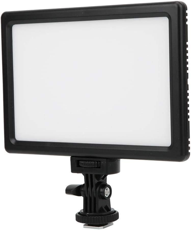 Portable Video Light 3200K 5600K Dimmable LED Video Light Fill Panel Lamp for Canon for Nikon Camera