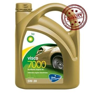 Aceite lubricante coche BP VISCO 7000 5w30 4Ltrs: Amazon.es: Coche y moto