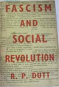 dutt fascism and social revolution pdf