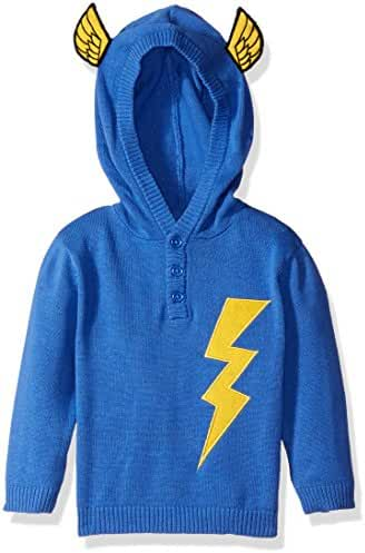 Rosie Pope Baby Boys'' Lightning Sweater Hoodie