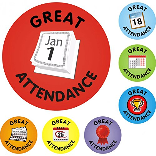 Attendance Stickers - Great Attendance Stickers