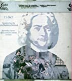 Critics choice - J.S. BACH Favorites from the Anna Magdalena Notebook (12'' 33 rpm vinyl rcord)