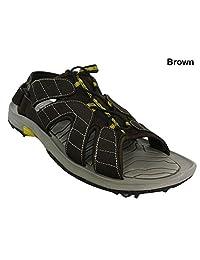 FootJoy Closeout GreenJoys Sandal Golf Shoes - Brown