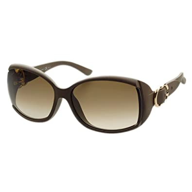 Amazon.com: Gucci – Gafas de sol, Color 3521 F/marco: barro ...