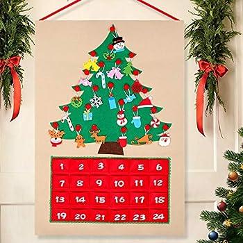 melissa doug countdown to christmas wooden. Black Bedroom Furniture Sets. Home Design Ideas