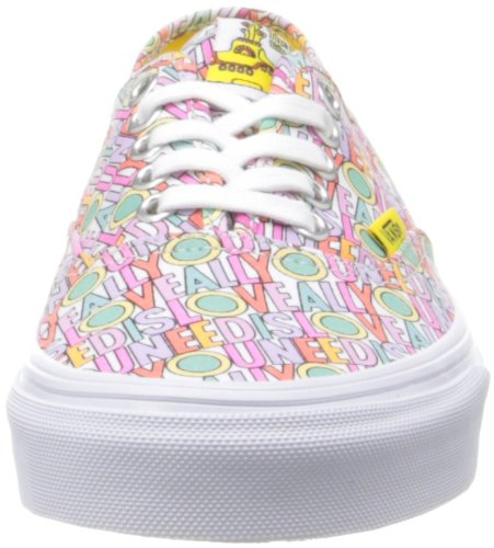Vans - Authentic, Zapatillas Unisex adulto, Multicolor (the Beatles), 36.5 EU Multicolor (G (The Beatles)