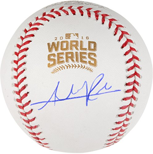 Addison Russell Chicago Cubs Autographed 2016 MLB World Series Baseball - Fanatics Authentic Certified ()