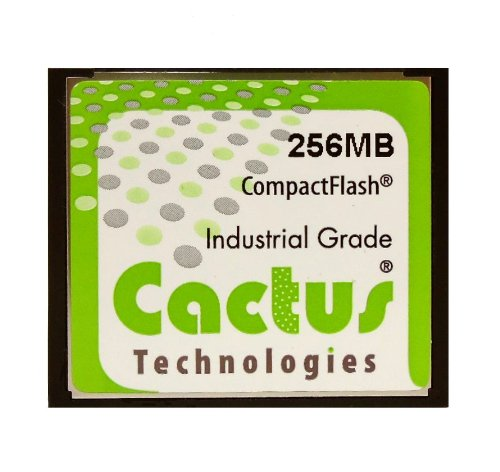 Cactus 256MB Industrial Camera Compact Flash CF Card 256 MB (BULK) ()