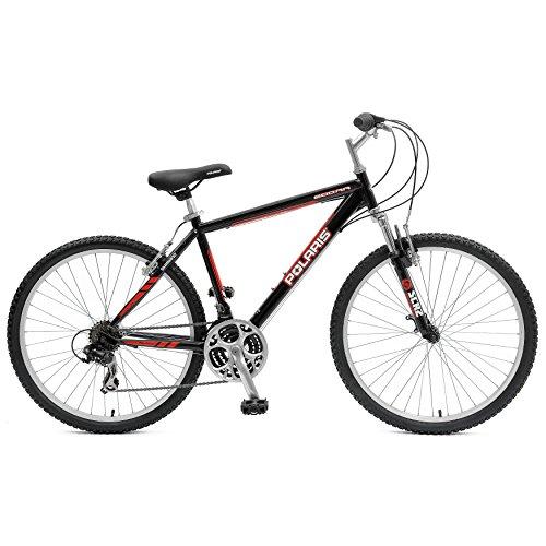 Polaris 600RR M.1 Hardtail Mountain Bike, 26 inch Wheels, 18.5 inch Frame, Men's Bike, Black
