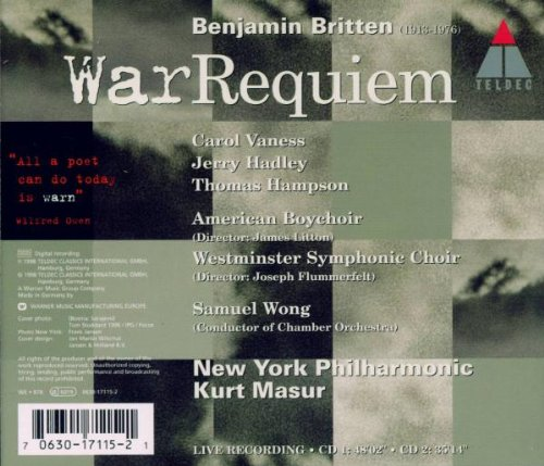 Britten: War Requiem by Alliance