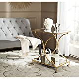 Safavieh Home Collection Ignatius Gold Bar Cart