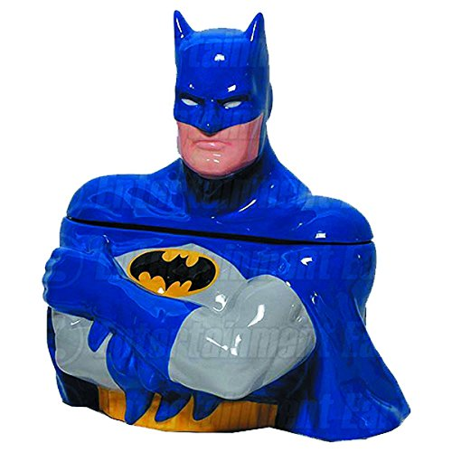 - Batman Blue Suit Cookie Jar - Entertainment Earth Exclusive