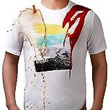 Beverry Waterproof Funny Graphic Men's T Shirt Printed Tee Shirt for Men Tops