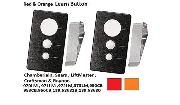 Clip 139.53681B Garage Door Opener compatible Remote Transmitter 139.53680