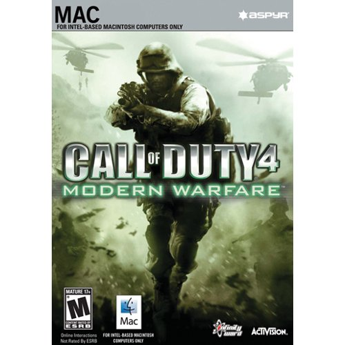 Amazon com: Call of Duty 4: Modern Warfare (Mac Download) [Download