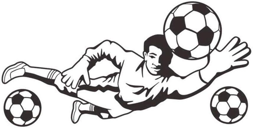 WJuan Pegatinas de Pared Balón De Fútbol De Fútbol Pegatinas De ...