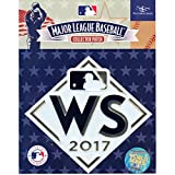 """Official Licensed 2017 MLB World Series Baseball Jersey Patch Houston Astros vs LA Dodgers 5"""" x 5"""""""