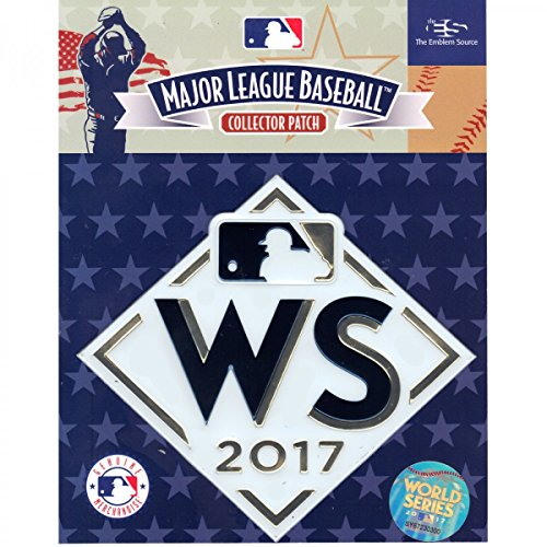 Official Licensed 2017 MLB World Series Baseball Jersey Patch Houston Astros vs LA Dodgers 5