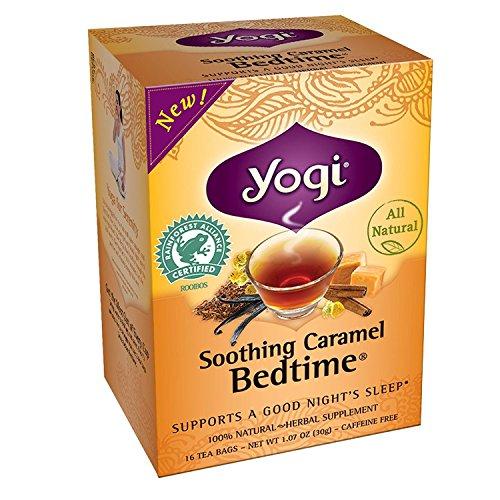 Yogi Teas Tea Caramel Bedtime, Pack of 3 -