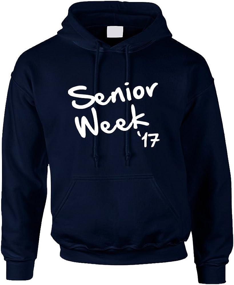 Allntrends Adult Sweatshirt Senior Week 17 White Class of 2017 Party