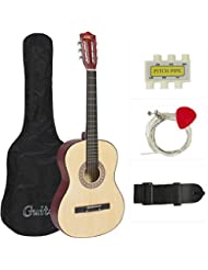 Best Choice Products Natural Acoustic Guitar with Accessories...
