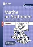 Mathe an Stationen Spezial Geometrie 1+2: Handlungsorientierte Materialien für die Klassen 1 und 2 (Stationentraining Grundschule Mathe)