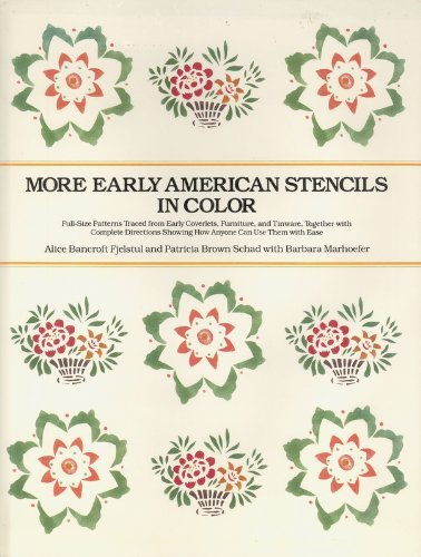 More Early American Stencils in Color ()