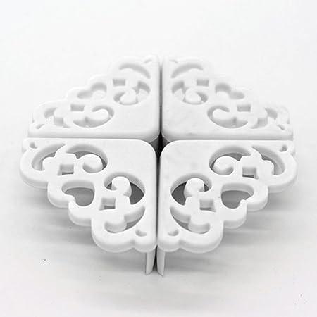 EMVANV 4 piezas/lote hueco patrón de flor suave bebé bebé bebé ...