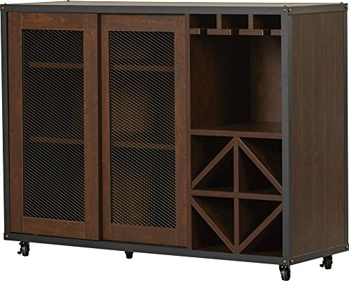 Arts Crafts Sideboard And (Liquid Pack Solutions Server Made of MDF Wood Veneers and Particle Board While this Buffet is Brimming with Midcentury-inspired Style It Also Adds Must-have Storage to Your Space)