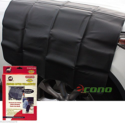 (Heavy Duty Magnetic Fender Cover Truck Car Suv Mechanic Work Mat Protector)