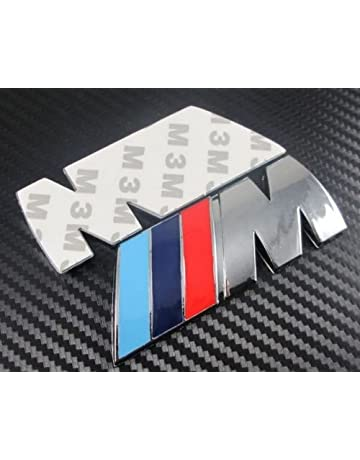 BMW M - Adhesivo del logotipo emblema de Serie 3, 5, 6 y 7