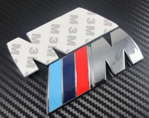 BMW M power logo m/étallique