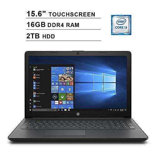 2019 Newest Premium HP Pavilion 15.6 Inch Touchscreen Laptop (Intel Core i3-7100U 2.40GHz, 16GB RAM, 2TB HDD, WiFi, HDMI, DVDRW, HD Audio, Webcam, Windows -