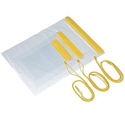 TRIXES 3 X Bolsas Impermeables para Cámara Teléfonos Móviles iPad Bolsa Mochila Cartera