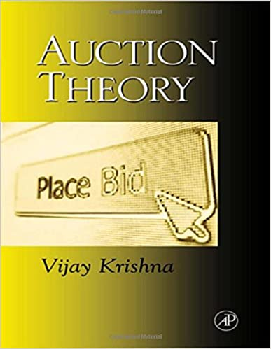 Auction Theory 9780124262973 Economics Books Amazon