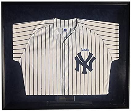799522e3f Image Unavailable. Image not available for. Color: Don Mattingly Signed  Framed Authentic Yankees Jersey ...