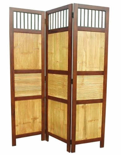 D-ART COLLECTION Bahama Screen 3-Panel Room Divider by D-Art Collection