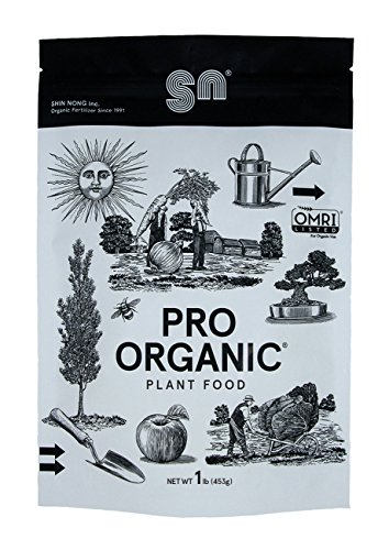 Shin Nong PRO ORGANIC All Purpose Fertilizer, 100% Organic, 1lb, OMRI Listed