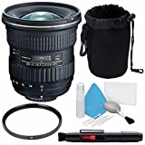 Tokina AT-X 11-20mm f/2.8 PRO DX Lens for Nikon F (International Model) No Warranty + Deluxe Cleaning Kit + 82mm UV Filter + Deluxe Lens Pouch Bundle 7